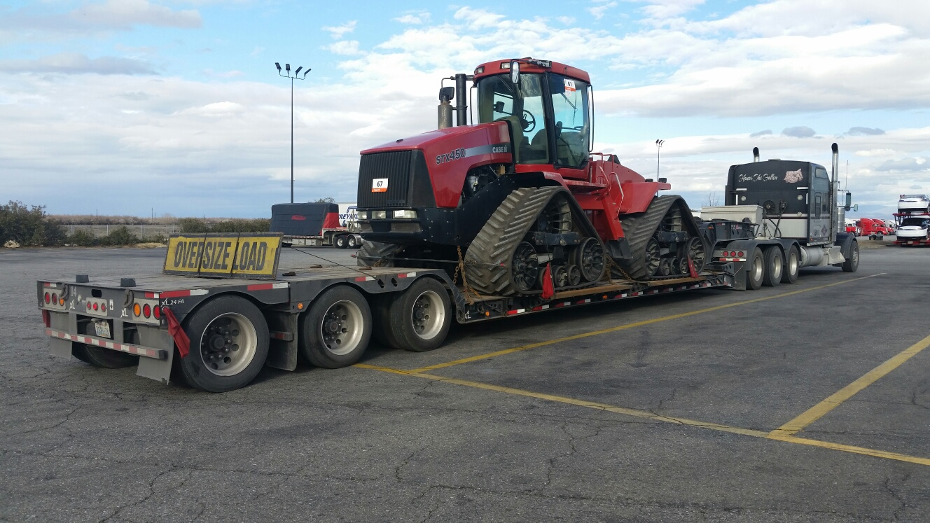 Shipping Case Farm Tractor
