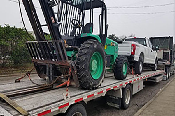 Transporting Forklifts