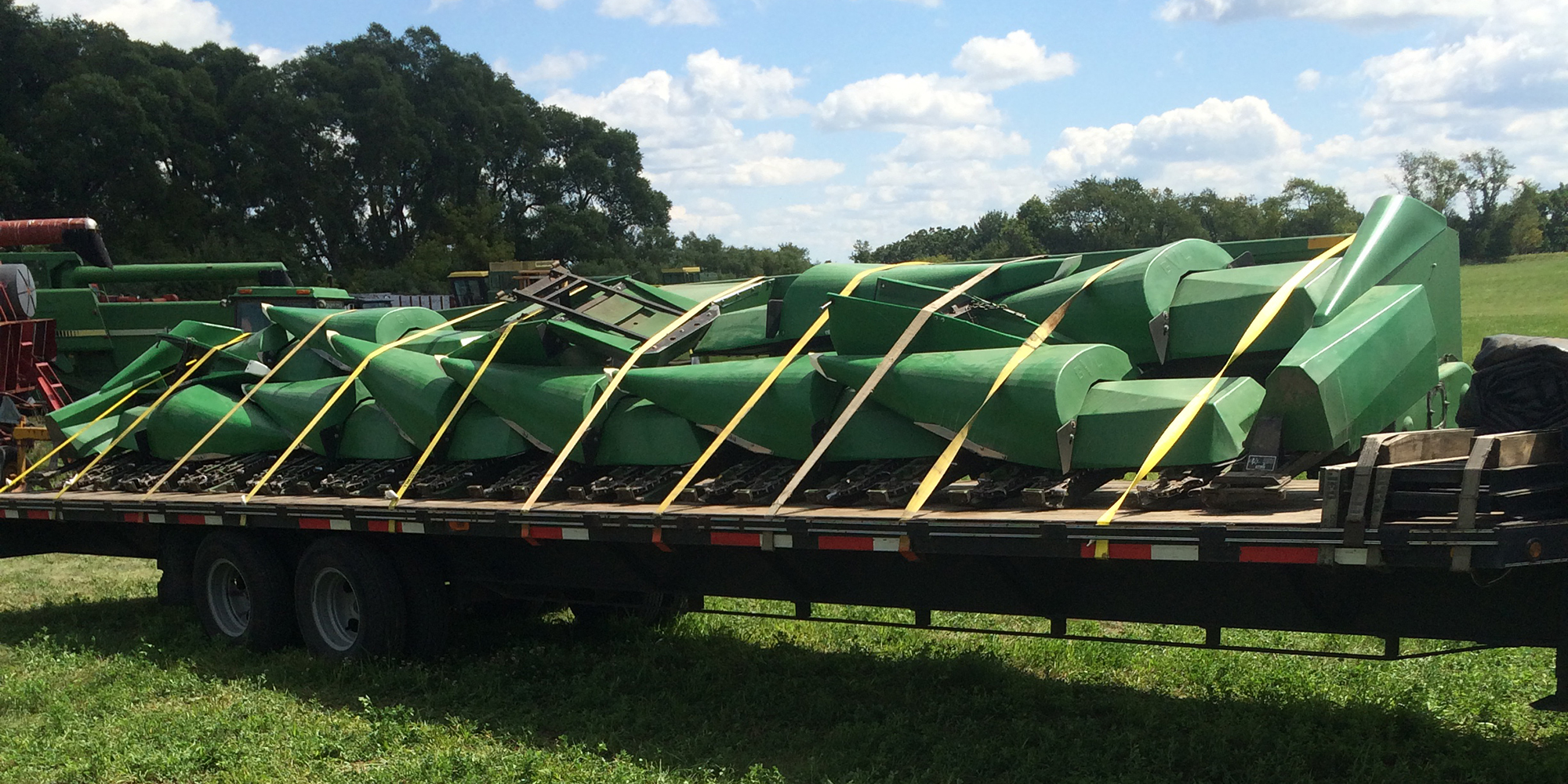 Shipping Horning Corn Head