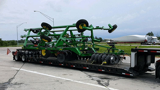 Shipping a John Deere 2720 disc ripper