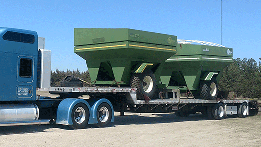 Shipping a par of EZ Trail Farm Wagons