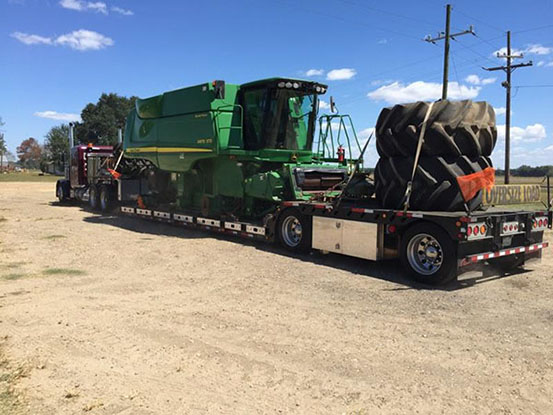 transporting tractors, heavy load drivers