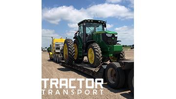 Shiping John Deere 6170R tractor