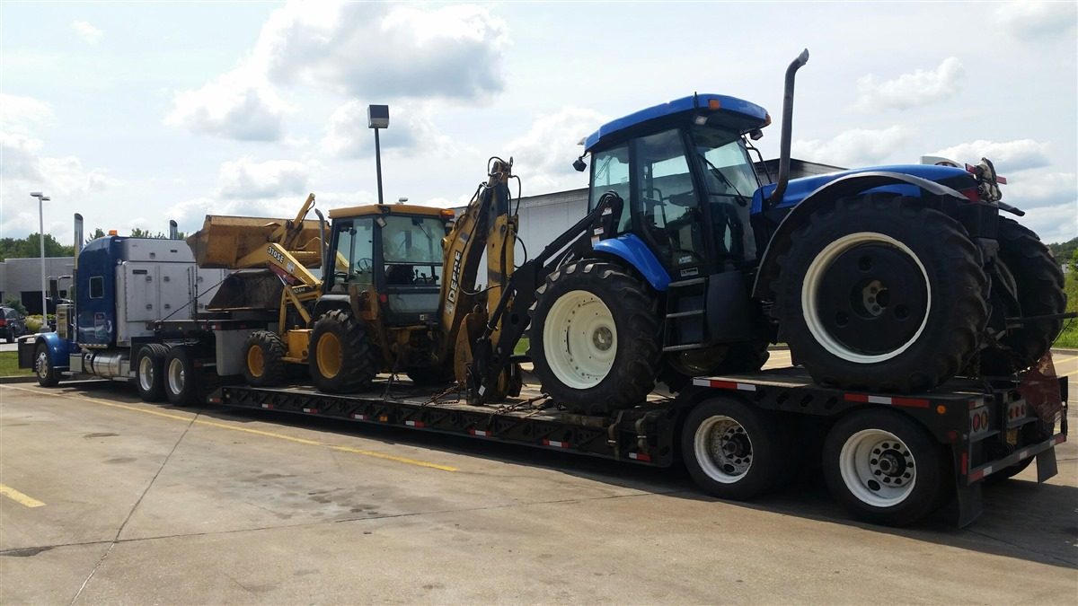Shipping New Holland T6020 Elite Tractor